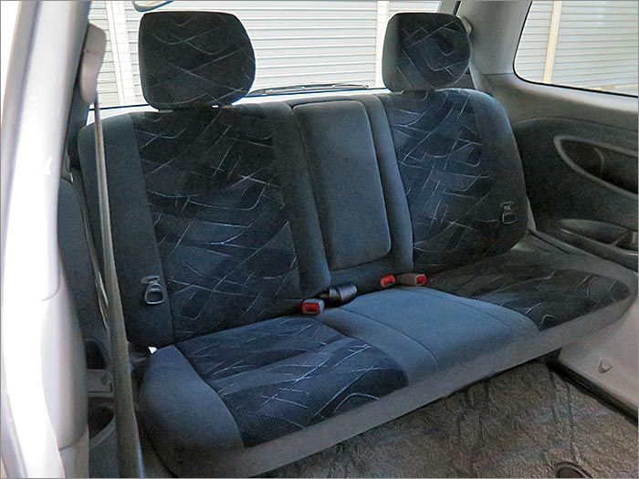 サードシートはほとんど使われていなかったようです。