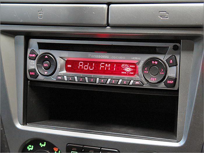 オーディオ。CD、ラジオが使用できます。