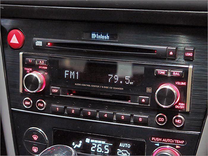 マッキントッシュオーディオ。車内に臨場感ある音楽空間を創出します。