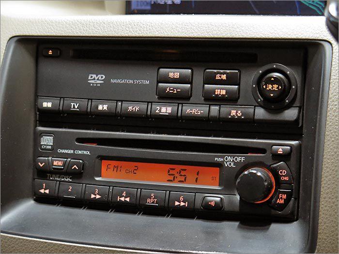 CDトラジオが使用できます。