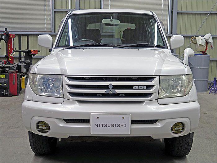 車両状態良好の4WDパジェロイオです。装備はDVDナビ、キーレス、アルミ付きです。