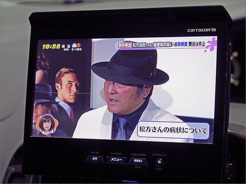 テレビも使用できます。