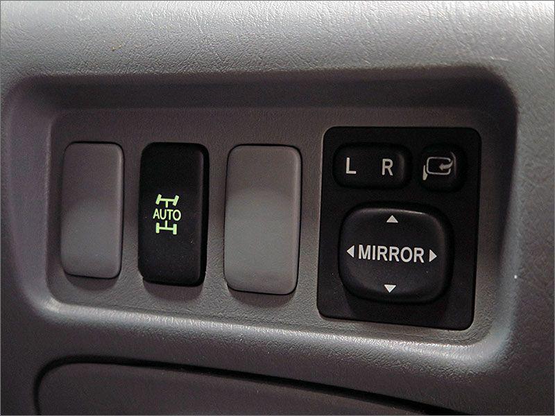 ドアミラーOKです。4WDも正常に動作しています。