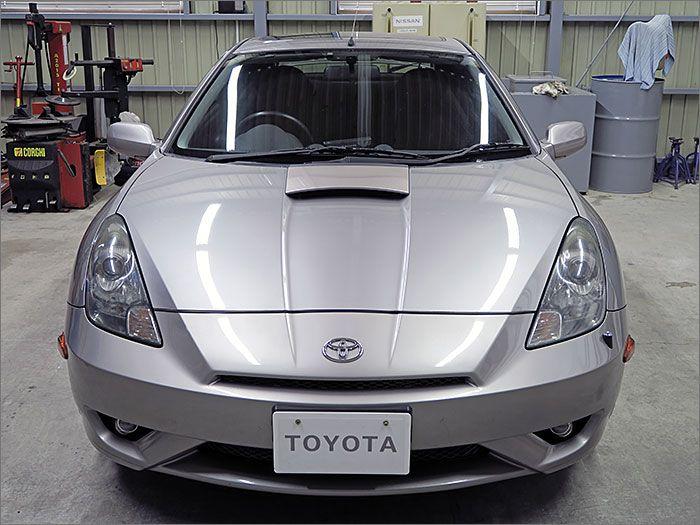 車両状態良好のセリカです。装備はDVDナビ、CD、MD、ETC、キーレス、アルミ、HIDライト付き。