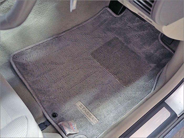 車内はクリーニング済みです、キレイに仕上がってます。