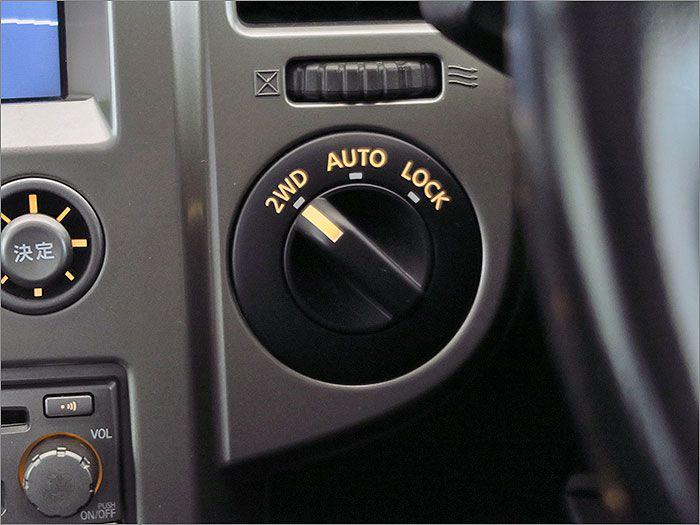 切り替え式4WDです。