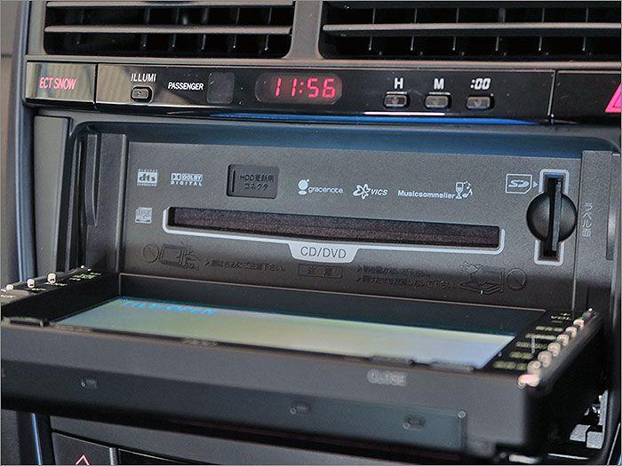 CD、DVDビデオ再生、ラジオが使用できます。