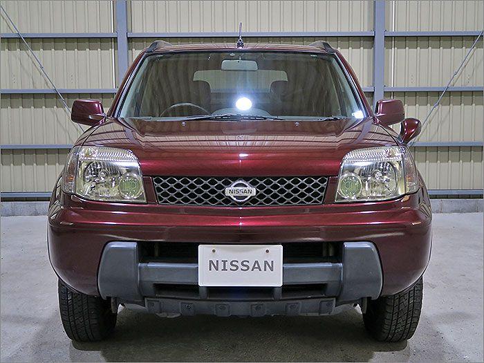車両状態良好のエクストレイル4WDです。装備はHDDナビ、DVDビデオ、CD、MD、ETC、キーレス、HIDライト付き。
