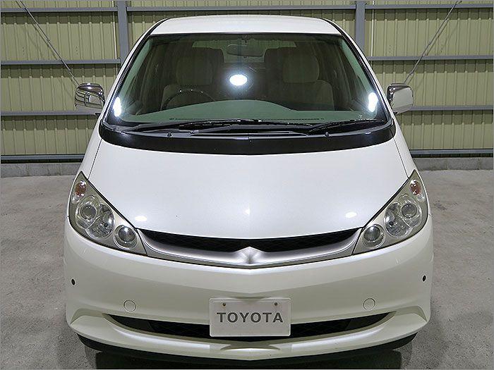 車両状態良好のエスティマハイブリッドです。装備は左側パワースライドドア、DVDナビ、バックカメラ、CD、MD、ETC、キーレス、アルミ、HIDライト付き。