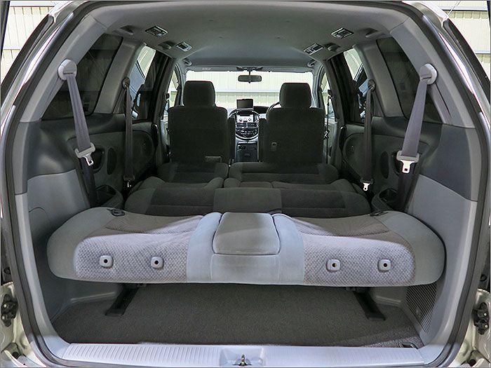 車内泊もできます。