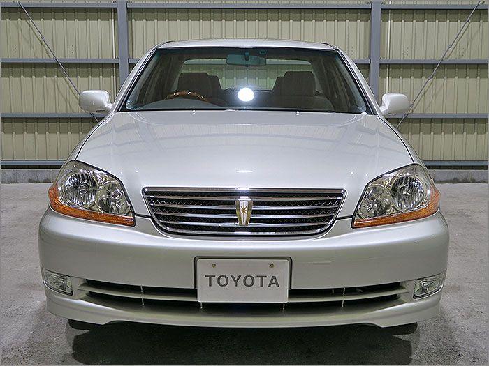 車両状態良好のマーク2です。装備はDVDナビ、バックカメラ、CD、ETC、ウッドコンビハンドル、キーレス、アルミ、HIDライト付き。