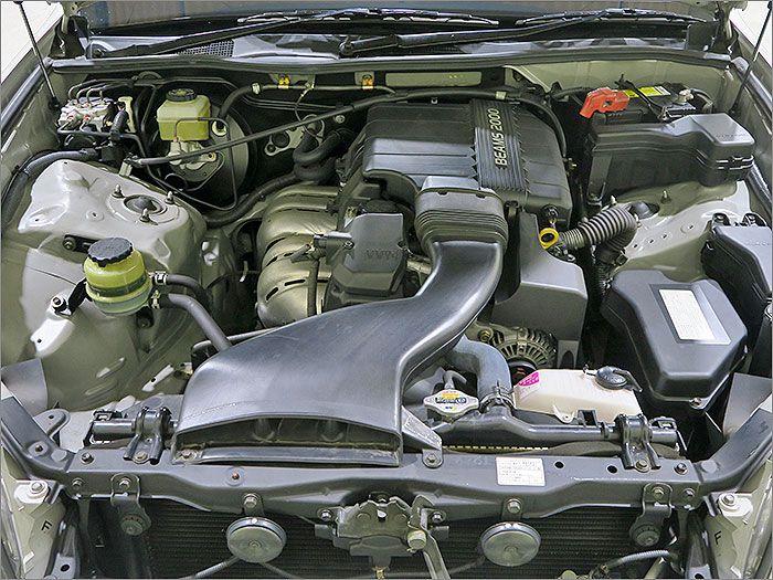 エンジン、ミッション良好・オイル漏れもございません。排気量は2000cc、燃費もよく経済的です。